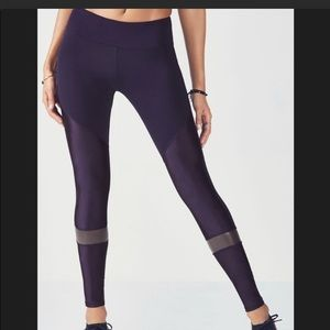 Fabletics dark purple leggings